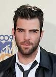UNIVERSAL CITY, CA. - May 31: Zachary Quinto arrives at the 2009 MTV Movie Awards at the Gibson Amphitheatre on May 31, 2009 in Universal City, California.
