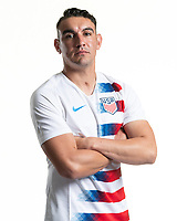Rome, GA - Friday, June 21, 2019:  Para 7 USMNT headshot of David Garza.