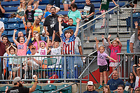 Fans during a Chattanooga Lookouts game against the Jackson Generals on May 9, 2018 at AT&T Field in Chattanooga, Tennessee.  Chattanooga defeated Jackson 4-2.  (Mike Janes/Four Seam Images)