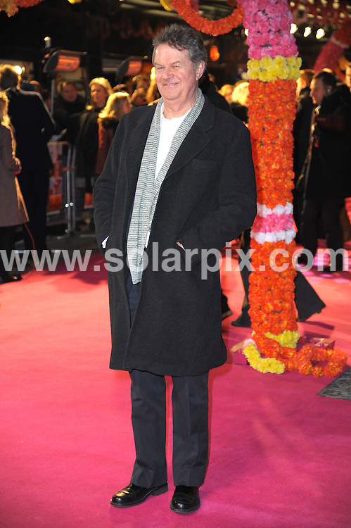 """**ALL ROUND PICTURES FROM SOLARPIX.COM**                                             **WORLDWIDE SYNDICATION RIGHTS**                                                                                  Stars arrive for """"The Best Exotic Marigold Hotel"""" UK movie premiere at the Curzon Mayfair cinema in London..This pic:  John Madden                                                              .JOB REF:   14452   MSR       DATE:  08.02.12                                                          **MUST CREDIT SOLARPIX.COM OR DOUBLE FEE WILL BE CHARGED**                                                                      **MUST AGREE FEE BEFORE ONLINE USAGE**                               **CALL US ON: +34 952 811 768 or LOW RATE FROM UK 0844 617 7637**"""