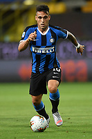 Lautaro Martinez of FC Internazionale in action during the Serie A football match between Parma and FC Internazionale at stadio Ennio Tardini in Parma ( Italy ), June 28th, 2020. Play resumes behind closed doors following the outbreak of the coronavirus disease. <br /> Photo Andrea Staccioli / Insidefoto