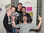 Darragh Dixon, Jack McGovern, Daryl Kelly and Andrew Conlon at the open day at Boomerang Café. Photo:Colin Bell/pressphotos.ie