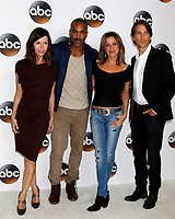 LOS ANGELES - AUG 6:  Finola Hughes, Donnell Turner, Nancy Lee Grahn, Michael Easton at the ABC TCA Summer 2017 Party at the Beverly Hilton Hotel on August 6, 2017 in Beverly Hills, CA