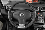 Steering wheel view of a 2012 Citroen C3 PICASSO Millenium 5 Door Mini Mpv 2WD