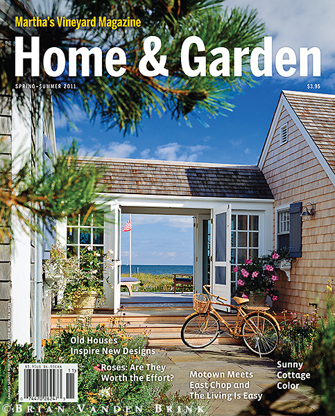 Martha's Vineyard Magazine Spring-Summer 2011 Cover