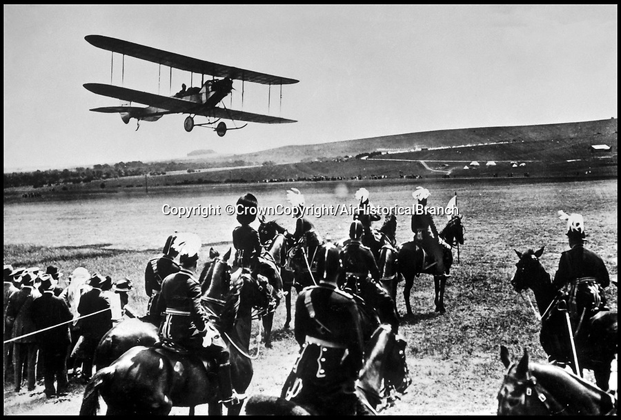 BNPS.co.uk (01202 558833)<br /> Pic: CrownCopyright/AirHistoricalBranch<br /> <br /> The oldest known 'Royal' flight - a 1914 flypast for the Kings birthday by a BE.2 at Ludgershall.<br /> <br /> A new book gives an intimate look behind the scenes of the Royal Flight and also the flying Royals.<br /> <br /> Starting in 1917 the book charts in pictures the 100 year evolution of first the King's Flight and then later the Queen's Flight as well as the Royal families passion for aviation.<br /> <br /> Author Keith Wilson has had unprecedented access to the Queen's Flight Archives to provide a fascinating insight into both Royal and aeronautical history.