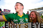 Stephen O'Brien. Kerry players celebrate their victory over Donegal in the All Ireland Senior Football Final in Croke Park Dublin on Sunday 21st September 2014.