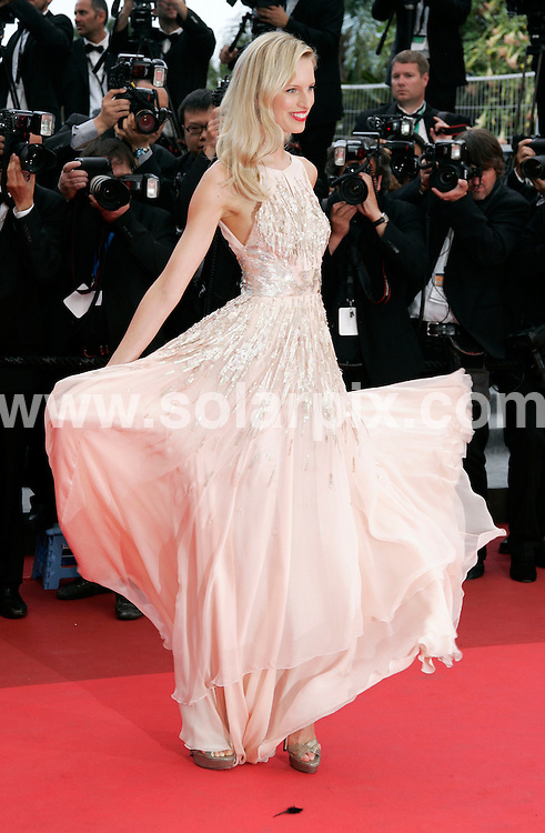 **ALL ROUND PICTURES FROM SOLARPIX.COM**                                             **UK AND SPAIN SYNDICATION RIGHTS ONLY**                                                                                   Arrivals at Les Bien-Aimes premiere and closing night 64th Cannes Film Festival                                                                            .This pic:    Karolina Kurkova                                                                                          JOB REF:    13419    CPR Heinz       DATE:  24.05.11                                                          **MUST CREDIT SOLARPIX.COM OR DOUBLE FEE WILL BE CHARGED**                                                                      **MUST AGREE FEE BEFORE ONLINE USAGE**                               **CALL US ON: +34 952 811 768 or LOW RATE FROM UK 0844 617 7637**