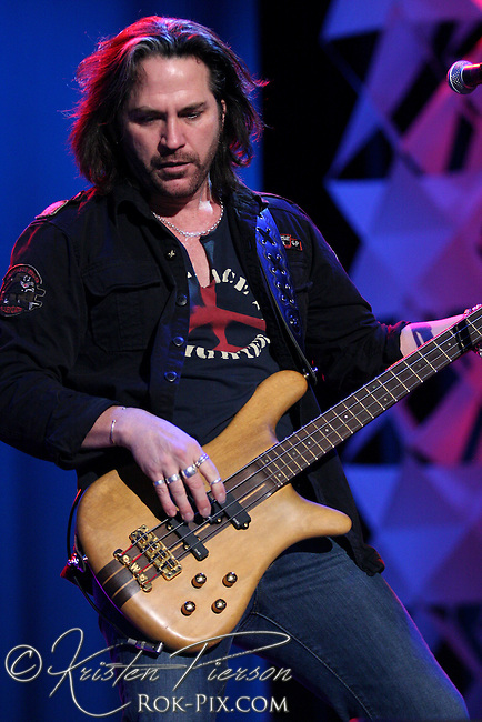 Winger performing at The Station nightclub fire benefit concert on February 25, 2008.