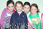 ST BRENDAN'S GAMES: Some of the budding Athletes who took part in the St Brendan's, Listellick Community Games on Thursday evening at Na Gaeil GAA Club grounds l:r Michelle O'Leary, St Brendan's Park, Maeve Murray, Listellick and Jordan and Bronwyn Foley, St Brendan's Park.   Copyright Kerry's Eye 2008