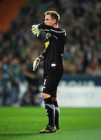 FUSSBALL   1. BUNDESLIGA    SAISON 2012/2013    8. Spieltag   SV Werder Bremen - Borussia Moenchengladbach  20.10.2012 Marc Andre ter Stegen (Borussia Moenchengladbach) enttaeuscht