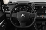 Car pictures of steering wheel view of a 2017 Citroen Space Tourer Business 4 Door Passenger Van