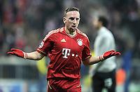 FUSSBALL   CHAMPIONS LEAGUE   SAISON 2011/2012     22.11.2011 FC Bayern Muenchen - FC Villarreal Jubel nach dem Tor zum 3:1 Franck Ribery (FC Bayern Muenchen)