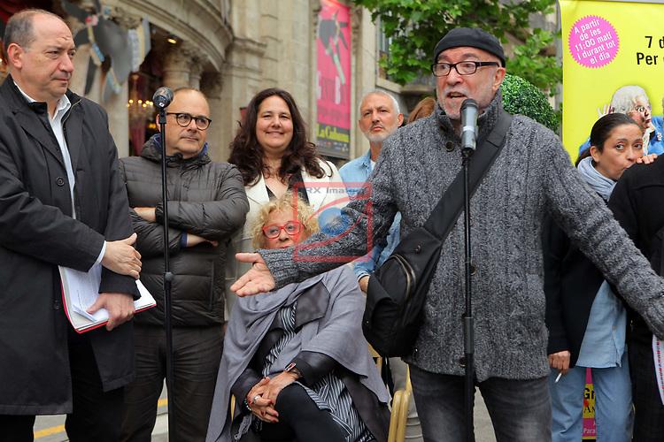 Presentacio 'Teresinada' Popular.<br /> Vicent Sanchis, Merce Comes i Jordi Millan.