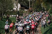 peloton <br /> <br /> 104th Li&egrave;ge - Bastogne - Li&egrave;ge 2018 (1.UWT)<br /> 1 Day Race: Li&egrave;ge - Ans (258km)