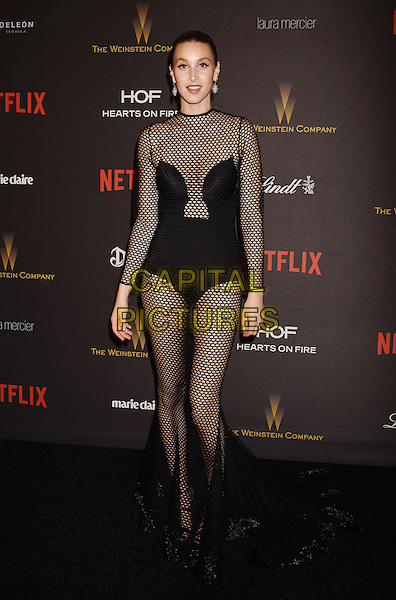 BEVERLY HILLS, CA - JANUARY 10: TV Personality Whitney Port attends The Weinstein Company and Netflix Golden Globe Party, presented with DeLeon Tequila, Laura Mercier, Lindt Chocolate, Marie Claire and Hearts On Fire at The Beverly Hilton Hotel on January 10, 2016 in Beverly Hills, California.<br /> CAP/ROT/TM<br /> &copy;TM/ROT/Capital Pictures