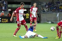 BELO HORIZONTE, MG, 25.02.2014 &ndash; COPA LIBERTADORES DA AM&Eacute;RICA 2014 &ndash; CRUZEIRO X UNIVERSIDAD DO CHILE Egidio jogador do Cruzeiro durante <br /> jogo contra Universidad do Chile jogo valido pela 2&ordf; rodada da  Copa Libertadores da Am&eacute;rica 2014, no est&aacute;dio Miner&atilde;o, na tarde de <br /> Ter&ccedil;a (25) (Foto:  MARCOS FIALHO / BRAZIL PHOTO PRESS)