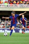 UEFA Women's Champions League 2017/2018.<br /> Quarter Finals.<br /> FC Barcelona vs Olympique Lyonnais: 0-1.<br /> Alexia Putellas.