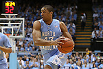31 December 2013: North Carolina's James Michael McAdoo. The University of North Carolina Tar Heels played the UNC Wilmington Seahawks at the Dean E. Smith Center in Chapel Hill, North Carolina in a 2013-14 NCAA Division I Men's Basketball game. UNC won the game 84-51.