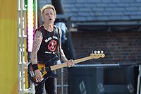 www.acepixs.com<br /> May 19, 2017 New York City<br /> <br /> Mike Dirnt of Green Day performing on Good Morning America Central Park on May 19, 2017 in New York City.<br /> <br /> Credit: Kristin Callahan/ACE Pictures<br /> <br /> Tel: 646 769 0430<br /> e-mail: info@acepixs.com