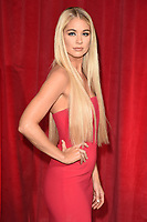 Amanda Clapham<br /> at the British Soap Awards 2017 held at The Lowry Theatre, Manchester. <br /> <br /> <br /> &copy;Ash Knotek  D3272  03/06/2017