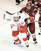 Kevin Roeder, Stephen Gionta - The Boston College Eagles defeated the Miami University Redhawks 5-0 in their Northeast Regional Semi-Final matchup on Friday, March 24, 2006, at the DCU Center in Worcester, MA.