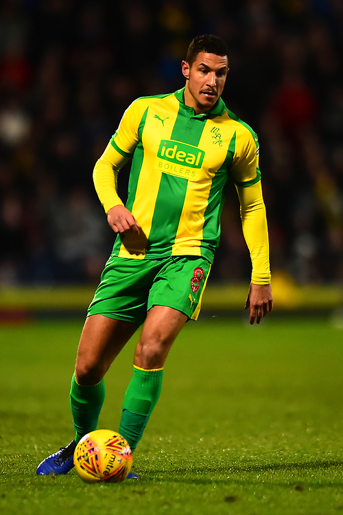 West Bromwich Albion's Jake Livermore in action<br /> <br /> Photographer Richard Martin-Roberts/CameraSport<br /> <br /> The EFL Sky Bet Championship - Blackburn Rovers v West Bromwich Albion - Tuesday 1st January 2019 - Ewood Park - Blackburn<br /> <br /> World Copyright © 2019 CameraSport. All rights reserved. 43 Linden Ave. Countesthorpe. Leicester. England. LE8 5PG - Tel: +44 (0) 116 277 4147 - admin@camerasport.com - www.camerasport.com