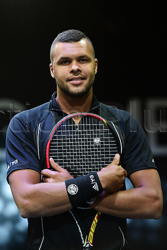 21.05.2015. Hôtel Salomon de Rothschild , Paris, France. Adidas launch of new clothing for the upcoming Roland Garros tennis tournament.  Jo Wilfried Tsonga