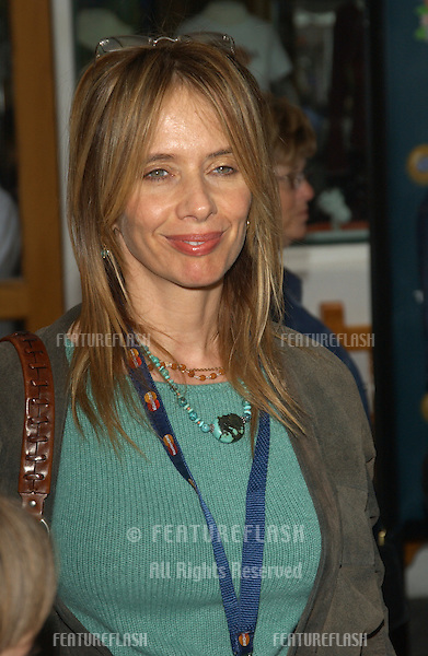 Actress ROSANNA ARQUETTE at the world premiere, in Hollywood, of Dr. Suess' The Cat in the Hat..November 8, 2003