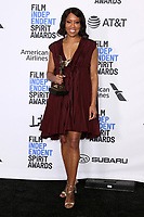 LOS ANGELES - FEB 23:  Regina King at the 2019 Film Independent Spirit Awards on the Beach on February 23, 2019 in Santa Monica, CA