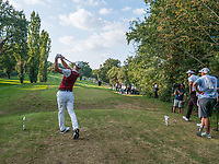 Martin Kaymer (GER) in action on the 17th hole during the second round of the 76 Open D'Italia, Olgiata Golf Club, Rome, Rome, Italy. 11/10/19.<br /> Picture Stefano Di Maria / Golffile.ie<br /> <br /> All photo usage must carry mandatory copyright credit (© Golffile | Stefano Di Maria)