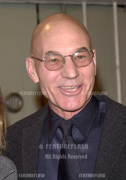 "12DEC99:  Actor PATRICK STEWART at the Los Angeles premiere of ""The Talented Mr. Ripley."".© Paul Smith / Featureflash"