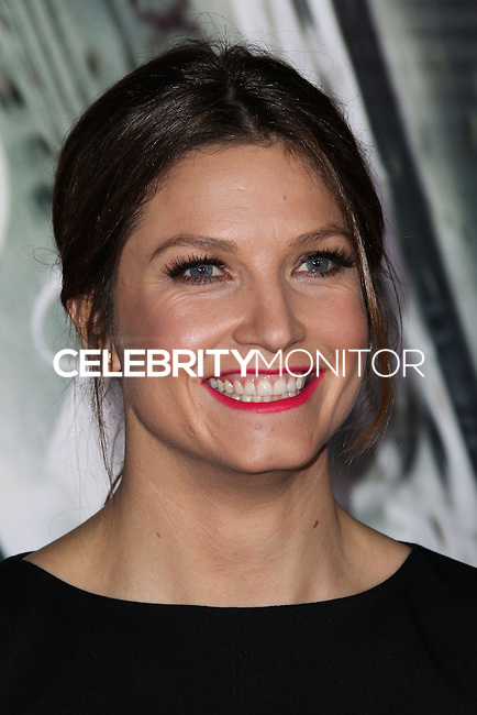 """WESTWOOD, CA, USA - FEBRUARY 24: Julia Mancuso at the World Premiere Of Universal Pictures And Studiocanal's """"Non-Stop"""" held at Regency Village Theatre on February 24, 2014 in Westwood, Los Angeles, California, United States. (Photo by Xavier Collin/Celebrity Monitor)"""