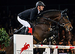 Marco Kutscher of Germany riding Cornet's Cristallo in action during the Longines Grand Prix as part of the Longines Hong Kong Masters on 15 February 2015, at the Asia World Expo, outskirts Hong Kong, China. Photo by Victor Fraile / Power Sport Images