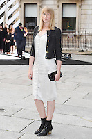 Jade Parfitt arrives for the VIP preview of the Royal Academy of Arts Summer Exhibition 2016