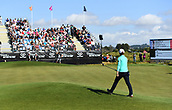 28th September 2017, Windross Farm, Auckland, New Zealand; LPGA McKayson NZ Womens Open, first round;  New Zealand's Lydia Ko walks up to the 18th green