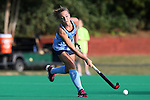 09 October 2015: North Carolina's Eva van't Hoog (NED). The University of North Carolina Tar Heels hosted the Longwood University Lancers at Francis E. Henry Stadium in Chapel Hill, North Carolina in a 2015 NCAA Division I Field Hockey match. UNC won the game 8-1.