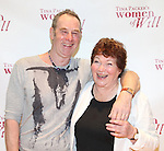 Nigel Gore & Tina Packer attending the Meet & Greet for Tina Packer's 'Women of Will' at The Gym at Judson in New York City on 1/16/2013