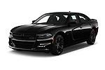 2018 Dodge Charger R/T 4 Door Sedan angular front stock photos of front three quarter view