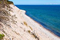 Sweden, Gotska Sandön national park. Around Tärnudden. Sand dunes.