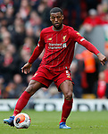 Georginio Wijnaldum of Liverpool during the Premier League match at Anfield, Liverpool. Picture date: 7th March 2020. Picture credit should read: Darren Staples/Sportimage