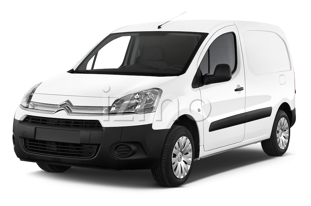2015 Citroen BERLINGO 1.6 VT 4 Door Car Van Angular Front stock photos of front three quarter view