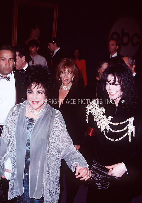 WWW.ACEPIXS.COM . . . . .  ..... . . . . US SALES ONLY . . . . .....June 25 2009....File pictures of singer Michael Jackson dies today following a cardiac arrest at his home on June 25 2009 in LA......Please byline: FAMOUS-ACE PICTURES... . . . .  ....Ace Pictures, Inc:  ..tel: (212) 243 8787 or (646) 769 0430..e-mail: info@acepixs.com..web: http://www.acepixs.com