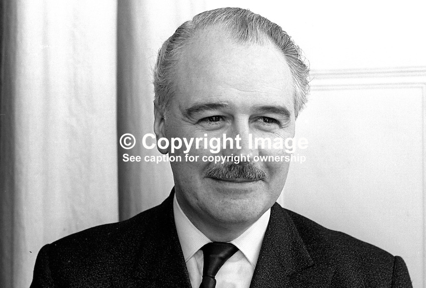 Captain L P S Orr, aka Captain Lawrence Percy Story Orr, Ulster Unionist, MP, South Down, UK Parliament. He was chairman of the Ulster Unionist MPs in Westminster. He was also Imperial Grand Master of the Orange Order. 196802000098<br />