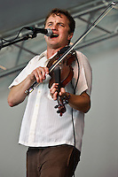 Lost Bayou Ramblers playing at Voodoo Fest 2010 in New Orleans.