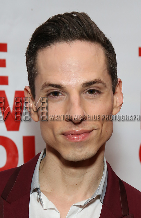 "Sean Patrick Doyle attends the Off-Broadway Opening Night Premiere of  ""Jerry Springer-The Opera"" on February 22, 2018 at the Roundabout Rehearsal Studios in New York City."
