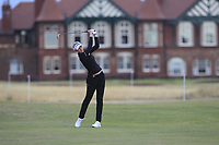 Nelly Korda (USA) on the 2nd fairway during Round 2 of the Ricoh Women's British Open at Royal Lytham &amp; St. Annes on Friday 3rd August 2018.<br /> Picture:  Thos Caffrey / Golffile<br /> <br /> All photo usage must carry mandatory copyright credit (&copy; Golffile | Thos Caffrey)