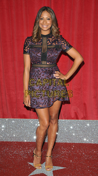 Laura Rollins at the British Soap Awards 2017, The Lowry Theatre, Pier 8, Salford Quays, Salford, Manchester, England, UK, on Saturday 03 June 2017.<br /> CAP/CAN<br /> &copy;CAN/Capital Pictures