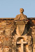 Dominikanische Republik, Kloster Monaterio de San Francisco in Santo Domingo,  erbaut 1508, UNESCO-Weltkulturerbe