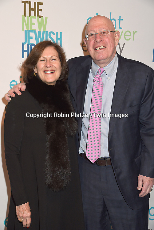Mel Barkan and Lou-Ellen Barkan attend The New Jewish Home Gala Honoring 8 Over 80 on March 12, 2018 at the Ziegfeld Ballroom in New York, New York, USA.<br /> <br /> photo by Robin Platzer/Twin Images<br />  <br /> phone number 212-935-0770